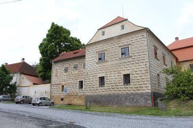 Chudenice, Starý zámek