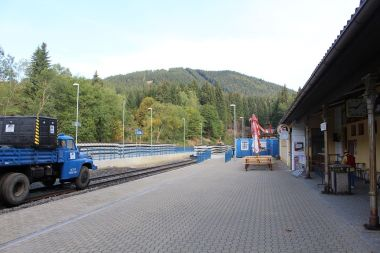 Špičák, nádraží