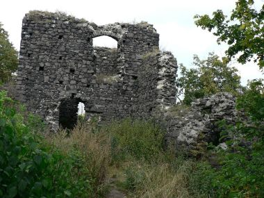 Hrad Ronov, zbytek paláce