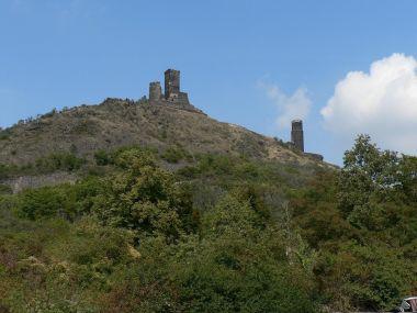 Hrad Hazmburk, celkový pohled