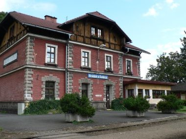 Hrádek u Sušice, nádraží