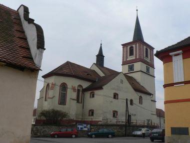 Volenice, kostel sv. Petra a Pavla