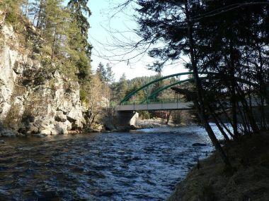 Most přes Otavu u Annína