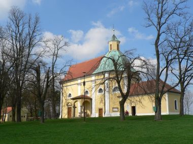 Kaple sv. Antonína, pohled z boku