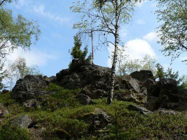 Radkovský vrch, vrchol