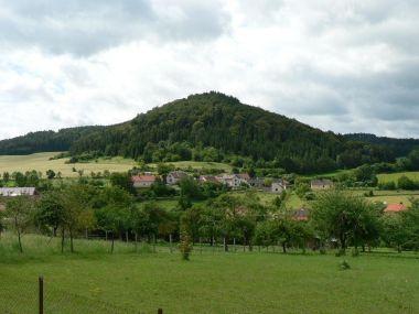 Hora Pučanka od severu
