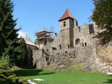 Klenová, nejstarší část hradu