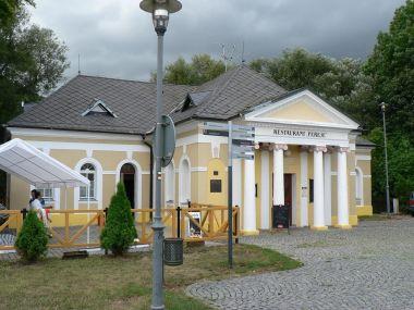 Lázně Evženie, restaurant Peřeje