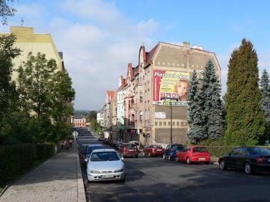 Varnsdorf, ulice nedaleko náměstí