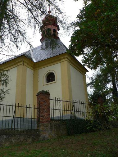 Bezděkov, kostelík sv. Anny