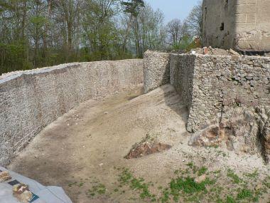 Sádek, hradní příkop