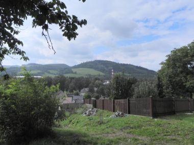 Pastvisko, pohled ze Křížového vrchu