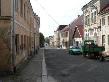 Nové Město pod Smrkem, Žižkova ulice