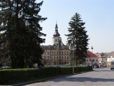 Hořice - náměstí