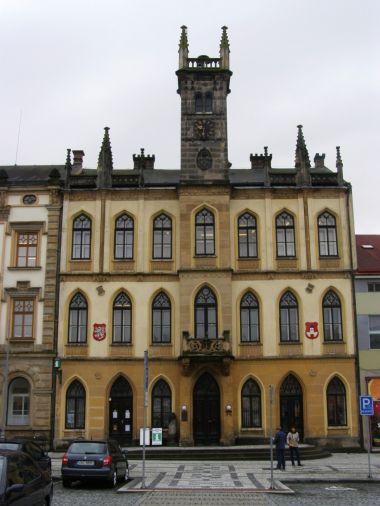 Hořice - radnice