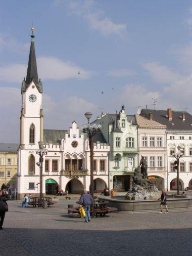 Trutnov - Krakonošovo náměstí