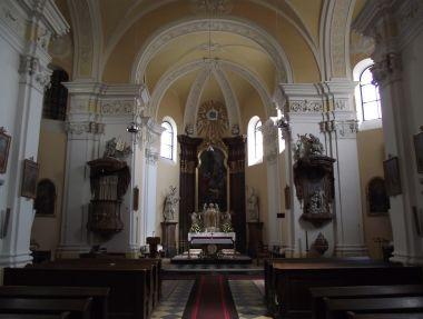 Senice na Hané - ve farním kostele sv. Máří Magdalény