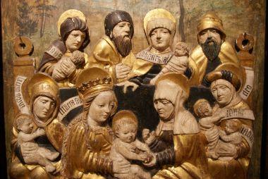 Svaté příbuzenstvo Kristovo (Sobotín, Pernštejn, 1512)
