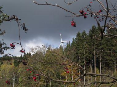 podzimní větrník poprvé
