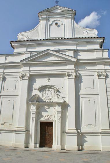 průčelí kostela sv. Bonaventury