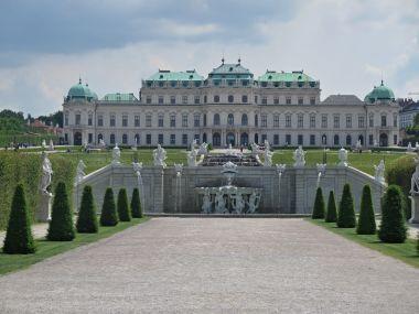 fotka k příspěvku Vídeň – Horní Belvedere  (Wien – Oberes Belvedere)