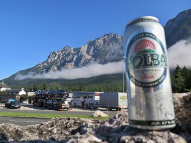Alpy ještě rakouské a pivo stále naše