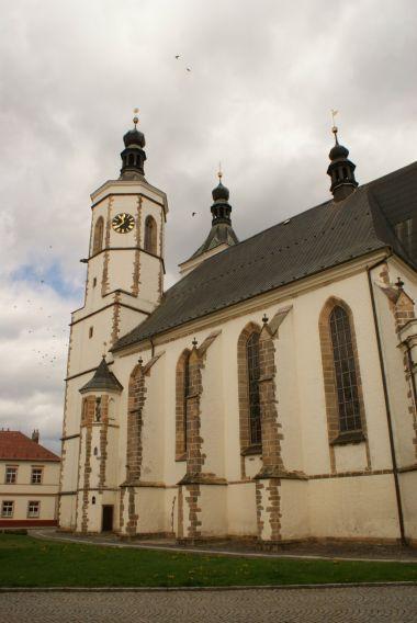 kostel Nanebevzetí PM