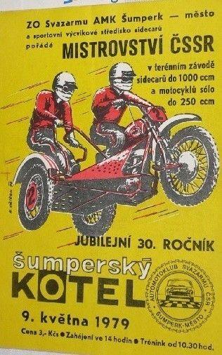 plakát na závody