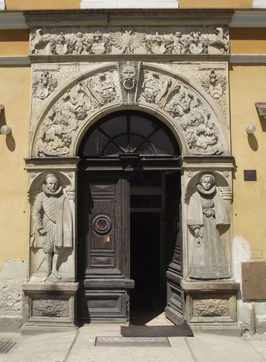 Třemešek - zámecký portál