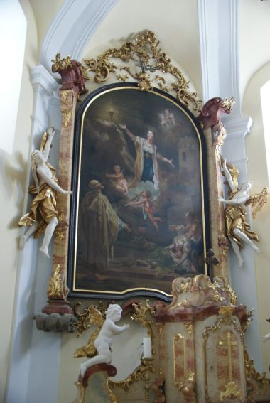 oltář sv. Barbory
