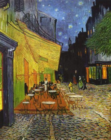 Van Goghova Noční kavárna Terrace