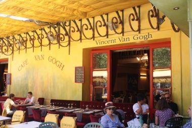 v kulisách divadla Vincent van Gogh