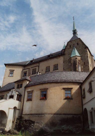pohled na hrad z I. nádvoří