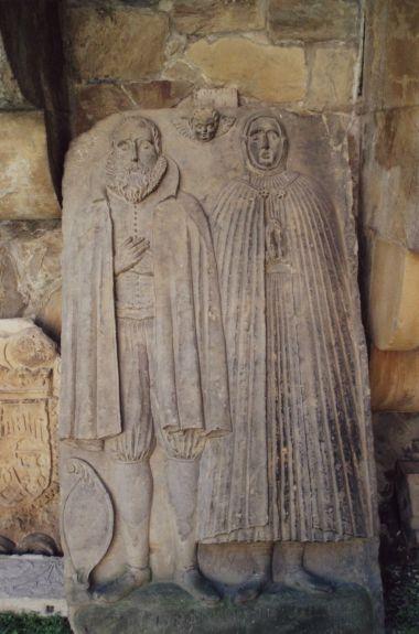 renesanční rodinný náhrobek
