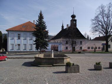 náměstí ve Valašských Kloboukách