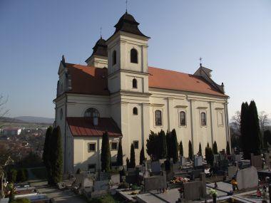 Bojkovice - kostel sv. Vavřince