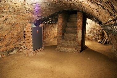 podzemí kostela sv. Mořice