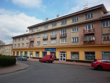 Horní Slavkov, náměstí