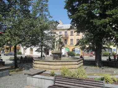Frenštát pod Radhoštěm, náměstí Míru