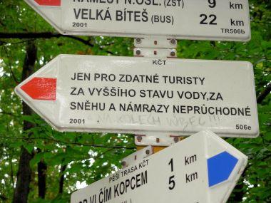 Turisticky náročná trasa