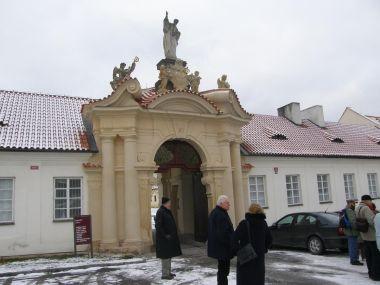 Vstupní brána klášterního areálu