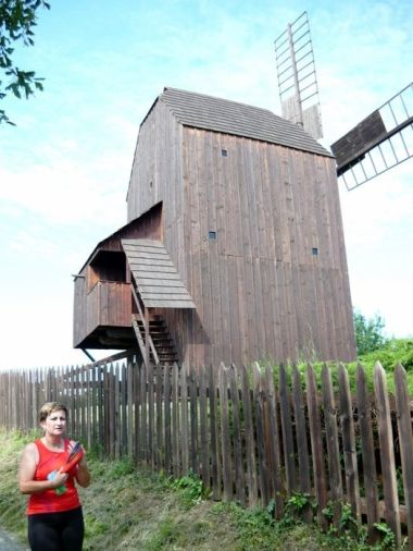 větrný mlýn Klobouky u Brna