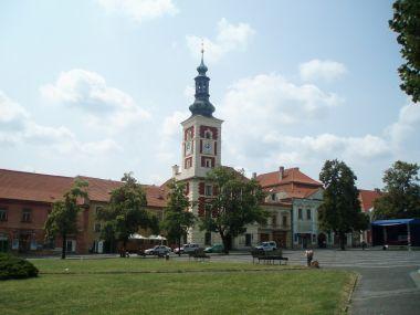 Masarykovo náměstí s radnicí