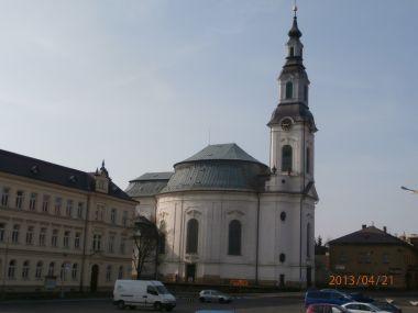 kostel Nanebevzetí Panny Marie Nový Bor