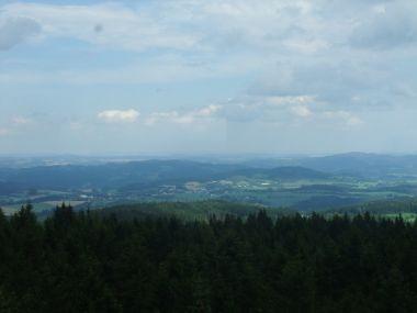 Pohled z Klostermanovy rozhledny