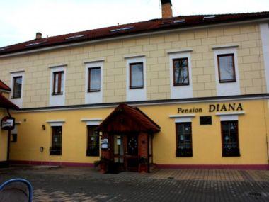 Cyklisté vítáni - Pension Diana