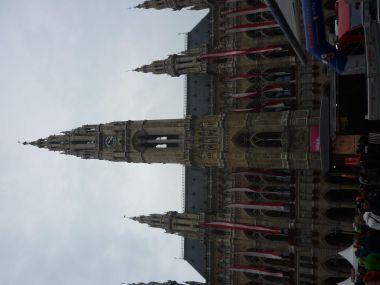 fotka k příspěvku Rathaus - radnice ve Vídni