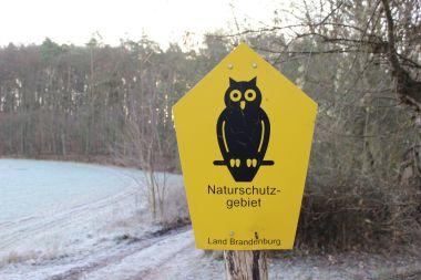 chráněná krajina Brandenburska