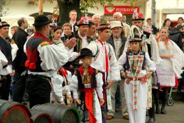 Foto: Velkopavlovické vinobraní; archiv města V.Pavlovice