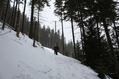 z Pece pod Sněžkou přes Růžohorky na Sněžku